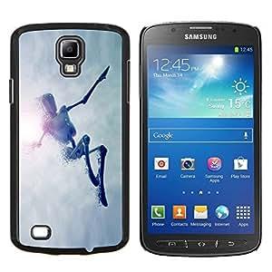 """For Samsung Galaxy S4 Active i9295 , S-type Saltar Robot"""" - Arte & diseño plástico duro Fundas Cover Cubre Hard Case Cover"""