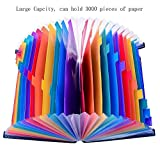 24 Pocket Expanding File Organizer – Multicolor