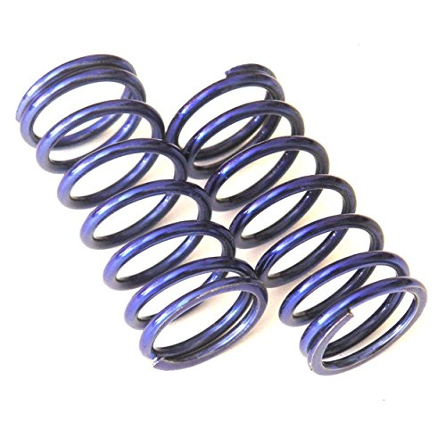 Hot Racing RVO5080 High Lift Shock Springs (Blue 18lb/in)(2) - Traxxas GTR Shock