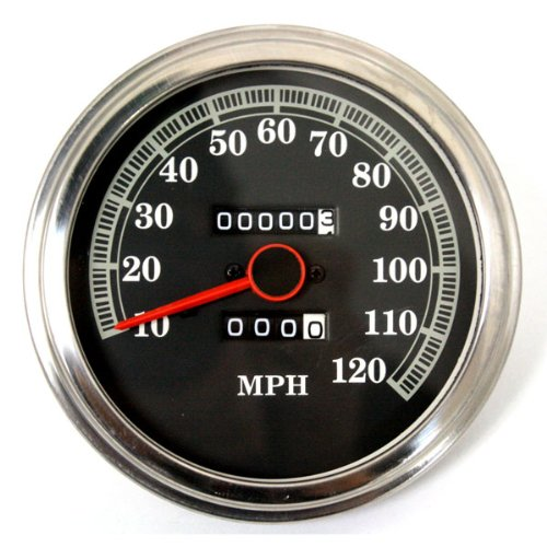 BKrider 2240:60 Ratio Speedometer for Harley 91-95 Softail OEM 67027-91A (C01090118) by Mid West Homes
