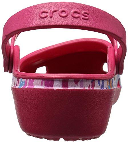 Punainen Crocs Karinfloralclg Naisten Tukkii vadelma qx71AtwCS