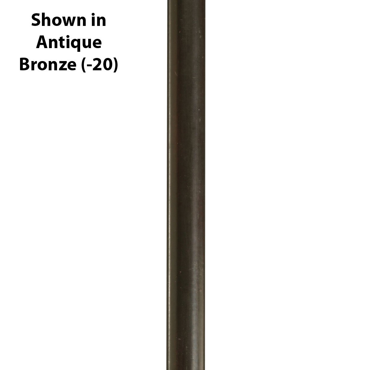 Progress Lighting P8601-09 Stem Extension Kit with 2-12-Inch and 2-15-Inch Stems Included, Brushed Nickel