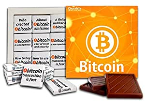 Da Chocolate souvenir Candy Bitcoin Chocolate Set de regalo ...