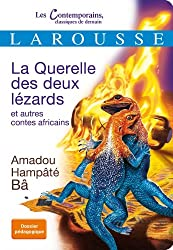 La Querelle des deux lézards et autres contes africains