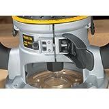 DEWALT DW618PKB 2-1/4 HP EVS Fixed Base/Plunge