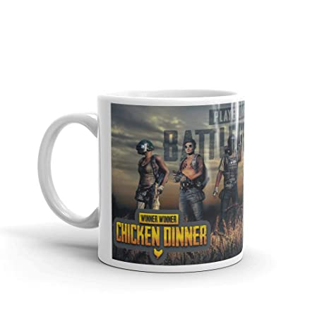 Buy Family Shoping Birthday Gifts PUBG PlayerUnknowns Battlegrounds Printed Coffee Cup Tea Mugs