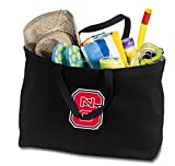 Broad Bay JUMBO NC State Wolfpack Tote Bag or Large Canvas NC State Shopping Bag