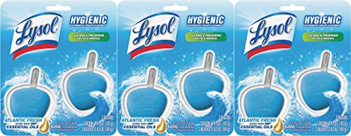 Price comparison product image Lysol No Mess Automatic Toilet Bowl Cleaner,  Ocean Fresh Scent,  6 Count