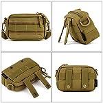 HUNTVP Sac en Bandoulière Sac d'Epaule Tactique Molle Militaire Sac Mini Sacoche Homme Multifonction Petit Sac Homme… 7