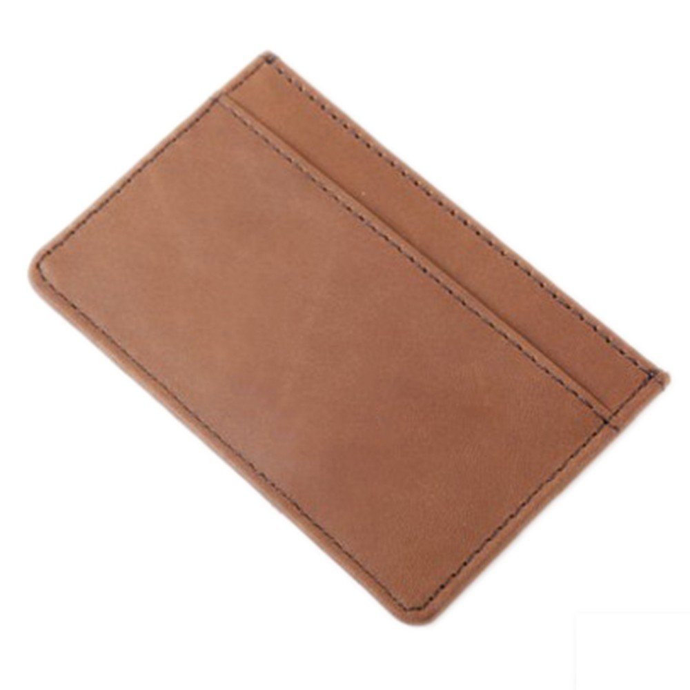 Wallet Mini Pocket Card Bag, Men'S Real Leather Wallet Chucking Leather