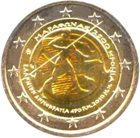 2 /€ Grecia 2010 Marat/ón