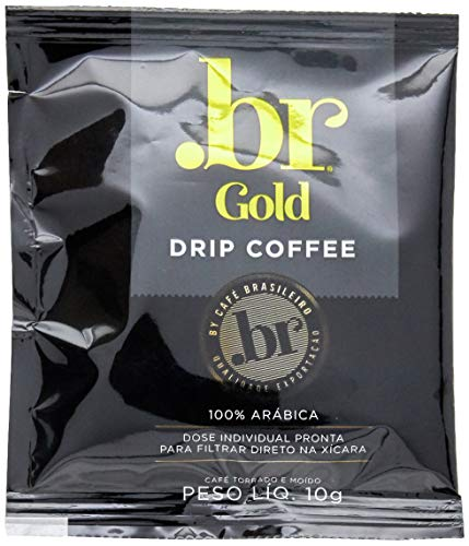 Café em Drip .Br Gold 100g