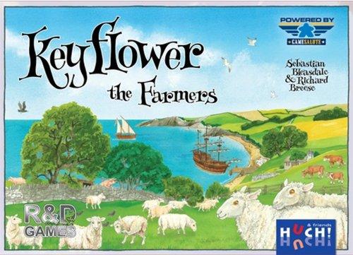 Huch & Friends 400180 - Keyflower Erweiterung: The Farmers, Strategiespiel