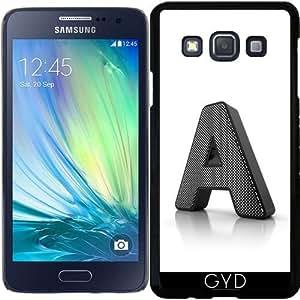 Funda para Samsung Galaxy A3 (SM-A300) - Monograma Una by Carsten Reisinger