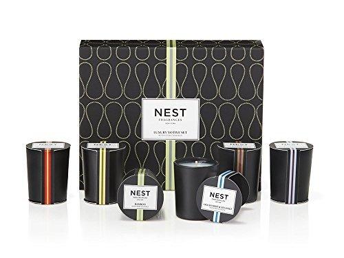 NEST Fragrances Luxury Mini Votive Candle (Leaf Home Fragrance Mist)