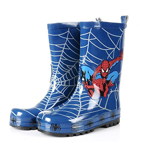 Pictures of Spider-Man Boy Kids Wellington Boots Wellies 1