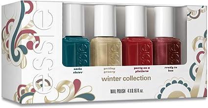 Essie Getting Groovy invierno Mini Kit, 5 ml, pack de 4: Amazon.es: Belleza