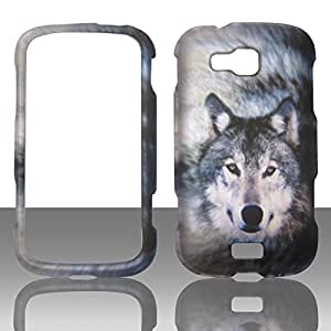 2D Snow Wolf Samsung Ativ Odyssey i930 Verizon Case Cover Phone Snap on Cover Case Protector Faceplates