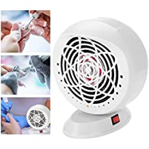 Vacuum Suction Nail Dust Collector, Professional 25W Nail UV Gel Fingernail Manicure Strong Power Cleaner Collection Fan(us plug)