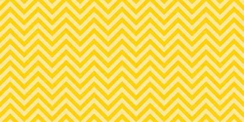 Fadeless  Bulletin Board Art Paper, Chic Chevron-Yellow, 48'' x 12', 1 Roll by Fadeless