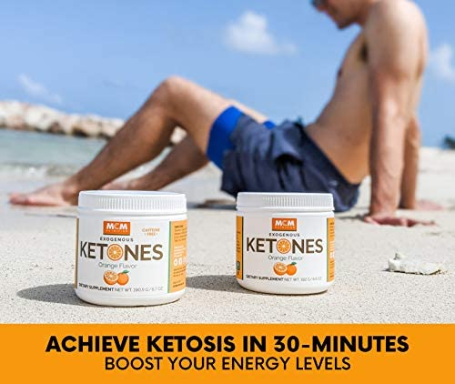 MCM Nutrition – Exogenous Ketones Supplement & BHB - Boosts Energy & Suppresses Appetite - Instant Keto Mix That Puts You into Ketosis Quick & Boosts The Keto Diet (Orange - 15 Servings) 3