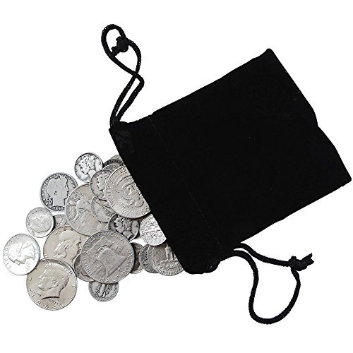 Eighth-Pound of Silver Coins - Dimes Quarters Half Dollar...