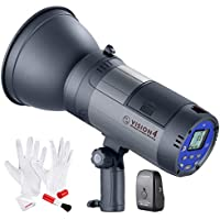 Neewer Vision 4 Battery Powered (700 Full Power flashes) Outdoor Studio Flash Strobe with Li-ion Battery, 2.4G System(Trigger Included) and Cleaning Kit, 3.96 Pounds for Location Shooting,Bowens Mount