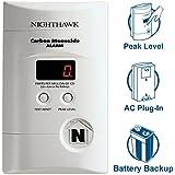 Nighthawk AC Plug-in Operated Carbon Monoxide Alarm with Digital Display KN-COPP-3