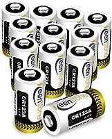 CR123A 電池 Keenstone 3Vリチウム電池 qrio 電池 キュリオロック ウェポンライト マイク カメラ ビデオ 懐中電灯 おもちゃなどに適用(12パック)