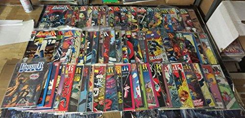 PUNISHER MEGA Collection!80 Books-A Billion Bullets!Portacio,Jim Lee VF+1980s90s