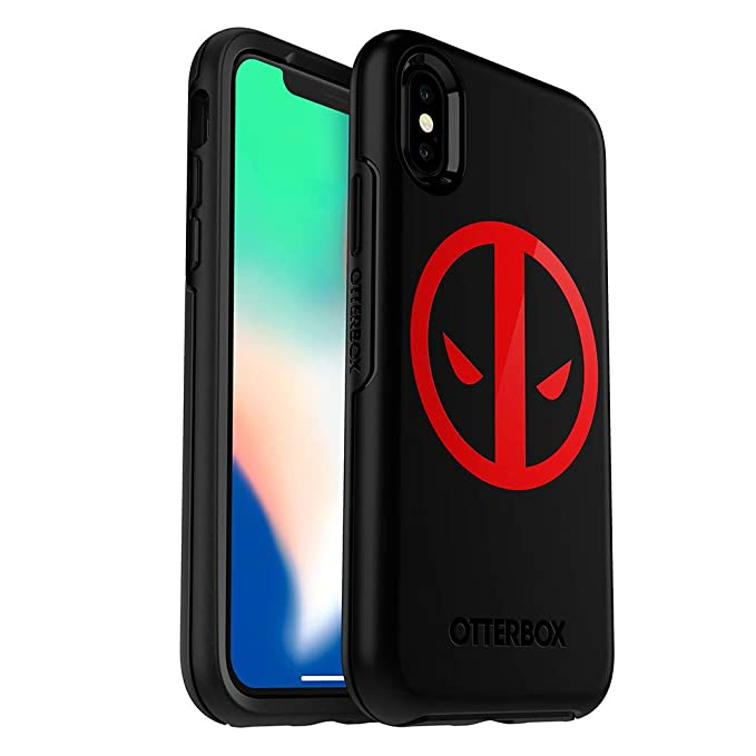 wholesale dealer 5b306 8e422 OtterBox SYMMETRY SERIES MARVEL Case for iPhone Xs & iPhone X - Retail  Packaging - DEADPOOL