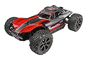Redcat Racing Blackout XBE Pro Brushless Electric Buggy with Waterproof Electronics Vehicle (1/10 Scale), Red