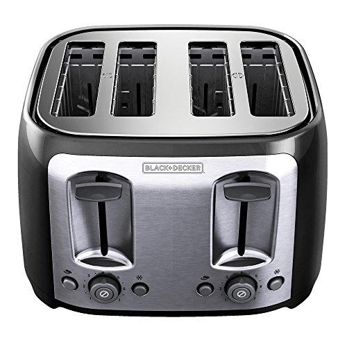 Тостер BLACK+DECKER TR1478BD 4-Slice Toaster,