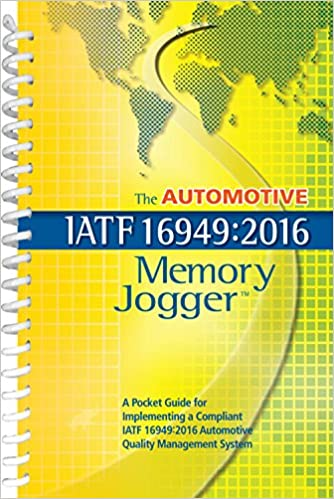 The Automotive IATF 16949:2016 Memory Jogger: Jeremy Hazel