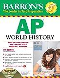 Barron's AP World History with CD-ROM, 5th Edition, John McCannon, 1438071345