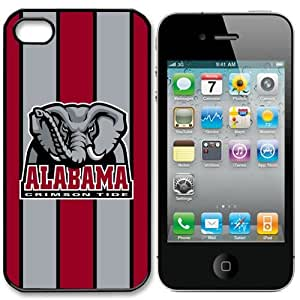 linJUN FENGNCAA Alabama Crimson Tide Iphone 4 and 4s Case Cover