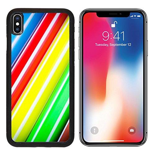 MSD Premium Apple iPhone X Aluminum Backplate Bumper Snap Case Color pen texture using as background IMAGE 24615582 - Equipment Depot Pa