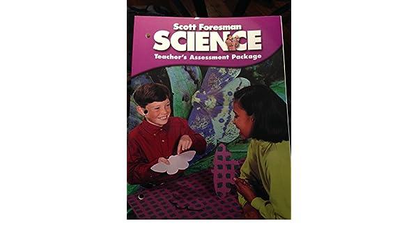 Scott Foresman Science Teacher S Assessment Package Grade 5
