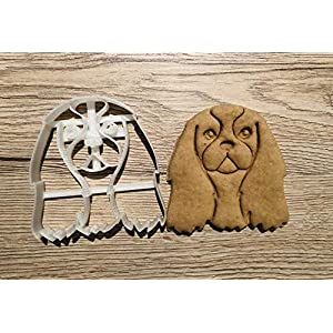 Cavalier King Charles Spaniel Cookie Cutter and Dog Treat Cutter - Dog Face 3