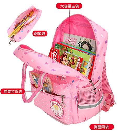 Laidaye Black Sacchetto Ragazza Qualità Della Scuola Di pink onesize Borsa Zaino RRqSU