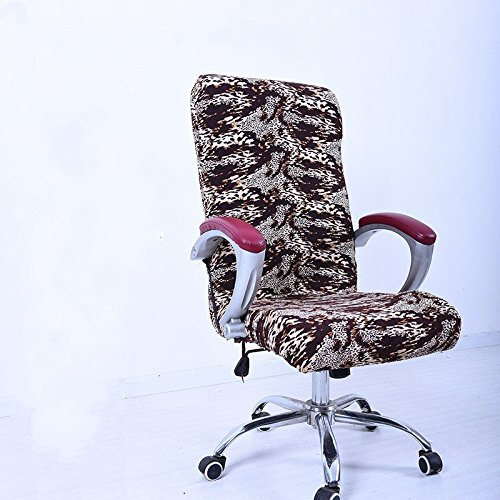 Wall of Dragon Office Chair Cover Slipcover Armrest Cover Seat Cover Stool Swivel Chair Antimacassar Elastic Seat Cover