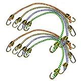 """Keeper 06052 10"""" Mini Bungee Cord, 8 Pack"""