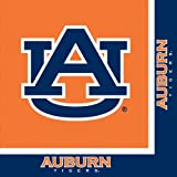Auburn Tigers Lunch Napkins, 20-Count