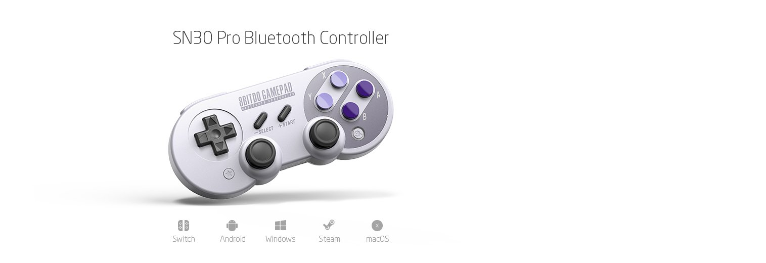 how to connect 8bitdo to nintendo switch