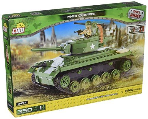 COBI Small Army American M24 Chaffee Tank (Tank Lego)
