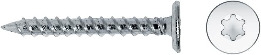 250 Unidades Celo 94525Fm Tornillo Rosca Chapa Fm Cabeza Plana para Tapon Efm Impronta Tx 4,5X25 Cincado