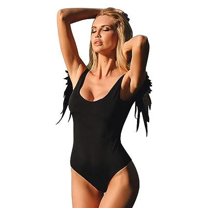 2b8bad2383 Amazon.com  Women Floral Print Swimsuit 2PCS