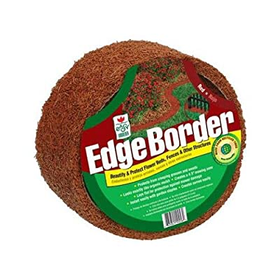 Easy Gardener EB60846-6 Perm-A-Mulch Border Edging, Red, 4-1/2 In. x 8-Ft.