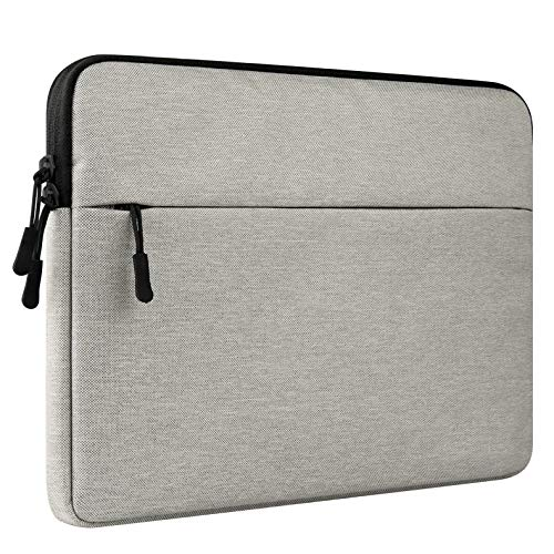 Waterproof Fabric Laptop Sleeve Case Breifcase Bag for Microsoft Surface Book 2 / Surface Pro 6 / Google Pixel Slate 12.3 / iPad Pro 12.9 III/HP Elite x2 13 (Gray)