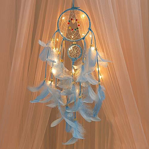 Dream Catcher, Creazy® Handmade Dreamcatcher Feathers Night Light Car Wall Hanging Room Home Decor - Jewelry Catcher